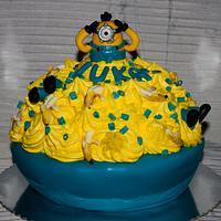 Lukas 1st birthday ... happy birthday-smash cake