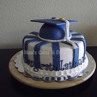College Graduation Cake by Annette Colon