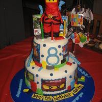 Lego Ninjago Birthday Cake