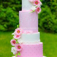 Pretty pink Gerbera Daisy