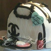 Chanel Purse Cake by Laura Barajas