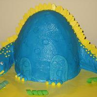 Stegosaurus Cake!