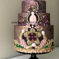 Indian Wedding Cake 6
