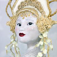 Royal Ascot Hats and Fashion Collaboration -  Pale faced Goddess.
