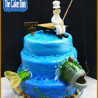 "The ""CATCH OF THE DAY"" Cake"