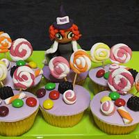 Witch's cupacakes by Le Cupcakes della Marina