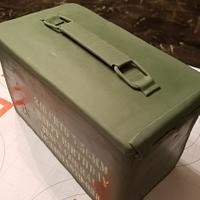 Ammo box cake by Sonia