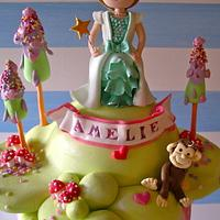 Amelie is two xxx