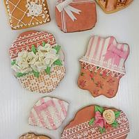 Shabby Chic Cookies <3