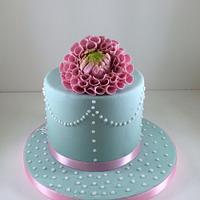 Dhalia Cake