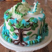 Baby Dragons Cake.