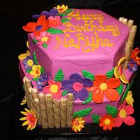Tropical Theme Birthday by Dee