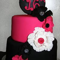 Sweet Sixteen Bling Cake