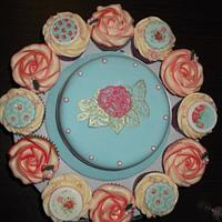 Cath Kidston inspired cake by Cakesnstuff
