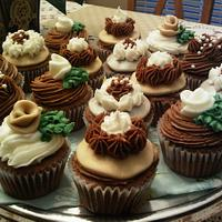 Mocha Gourmet Cupcakes