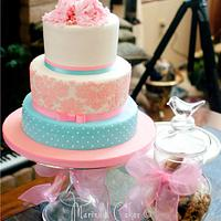 Baby Shower Cake by Mavic Adamos