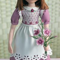 Emilia Doll - Cake International - Silver Award