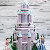 Diamond Castle Cake
