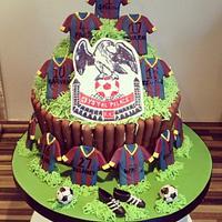 Crystal Palace Giant Cupcake