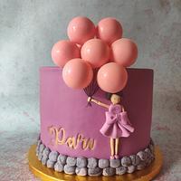 Balloon cake!