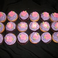 Girlie Birthday Cupcakes