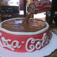 cake the Coca Cola