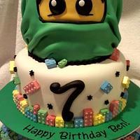 Ninjago Birthday Cake!