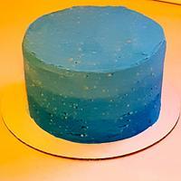 Night sky by Marguerite's Custom Cakes