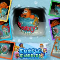 BUBBLE GUPPIES CAKE & CUPCAKES by Pastelesymás Isa