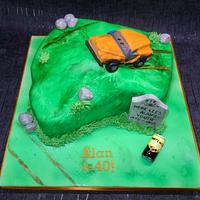 Off roading cake