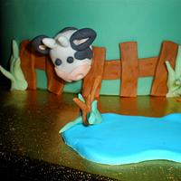 """""""On the Farm"""" by Sugarart Cakes"""