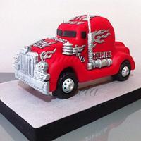 Tarta Camión Americano / Peterbild Cake