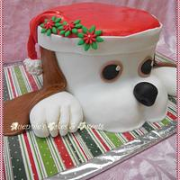 Christmas - Doggie Cake