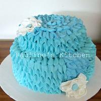 Tiffany Ribbon Cake