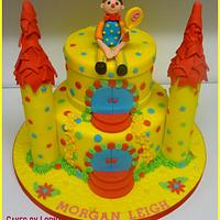 Mr Tumble Castle Cake