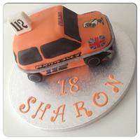 Mini Stock Car Cake