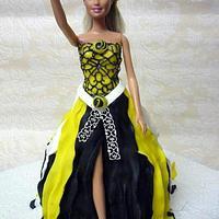 Barbie Fashionista Cake