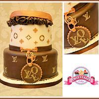 Louis Vuitton Cake by Farida Hagi