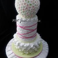 Spring Blossom Communion Cake