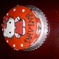hello kitty cake by paxy