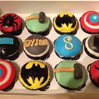 Avengers cupcakes