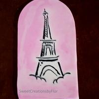Paris in Spring Cake by SweetCreationsbyFlor