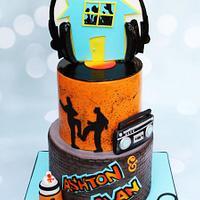 House Party Hip Hop Cake