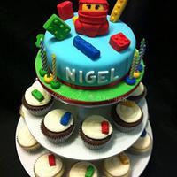 """Nigel"" - My Little Ninjago's Cake & Cupcake Tower by Beau Petit Cupcakes (Candace Chand)"