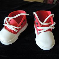 Running Shoe Cake Topper by Crowning Glory