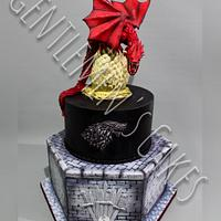 Dragon Cake (Game of Thrones)