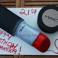 21st Birthday MAC makeup - July 2013