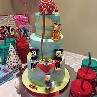 Vintage Mickey and Minnie Tea Party
