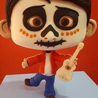 """Chibi cake Miguel """"Coco"""""""