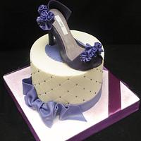 Purple Shoes and Ruffles